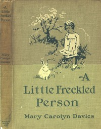 Cover of A Little Freckled Person: A Book of Child Verse