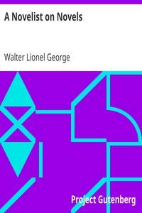 Cover of A Novelist on Novels