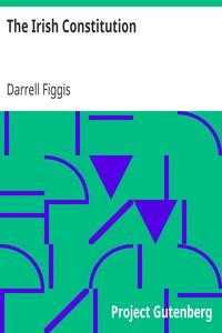 Cover of The Irish ConstitutionExplained by Darrell Figgis