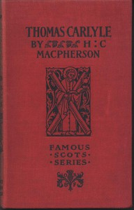 Cover of Thomas Carlyle