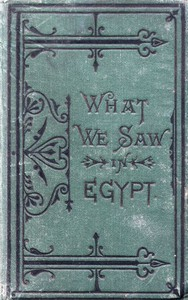 Cover of What We Saw in Egypt