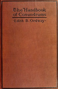 Cover of The Handbook of Conundrums