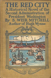 Cover of The Red City: A Novel of the Second Administration of President Washington