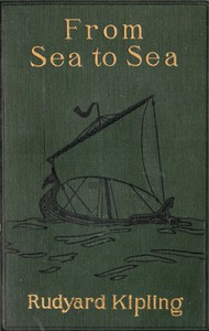 Cover of From Sea to Sea; Letters of Travel