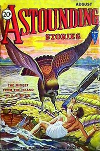 Cover of Astounding Stories,  August, 1931
