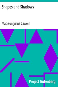 Cover of Shapes and Shadows