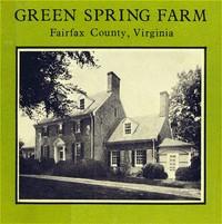 Green Spring Farm, Fairfax County, Virginia