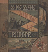 Cover of Zigzag Journeys in Europe: Vacation Rambles in Historic Lands