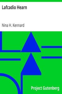 Cover of Lafcadio Hearn