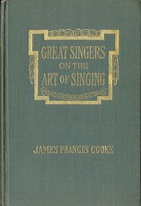 Cover of Great Singers on the Art of SingingEducational Conferences with Foremost Artists