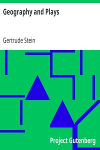Cover of Geography and Plays
