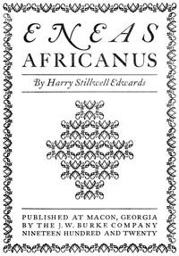 Cover of Eneas Africanus
