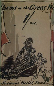 Cover of Poems of the Great WarPublished on the Behalf of the Prince of Wales's National Relief Fund