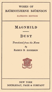 Cover of Magnhild; Dust