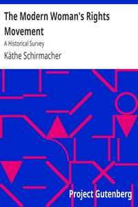 The Modern Woman's Rights Movement: A Historical Survey