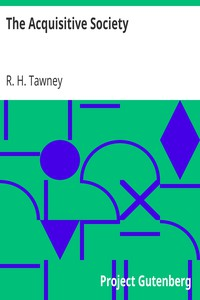 Cover of The Acquisitive Society