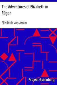 Cover of The Adventures of Elizabeth in Rügen