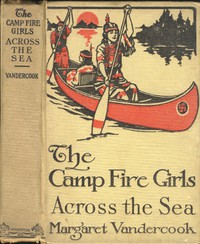 Cover of The Camp Fire Girls Across the Seas