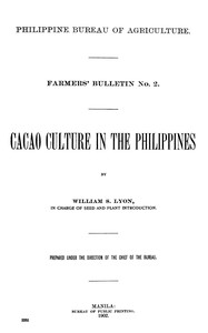 Cacao Culture in the Philippines