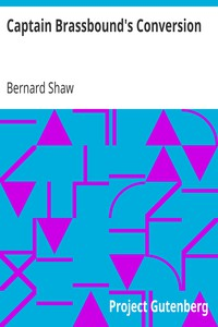 Cover of Captain Brassbound's Conversion