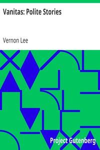 Cover of Vanitas: Polite Stories