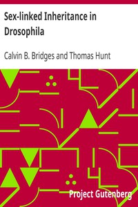 Cover of Sex-linked Inheritance in Drosophila