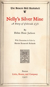 Cover of Nelly's Silver Mine: A Story of Colorado Life