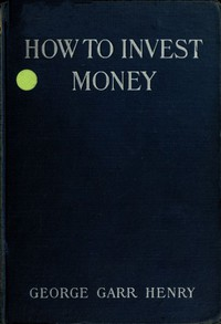 Cover of How to Invest Money