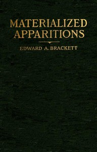 Cover of Materialized Apparitions: If Not Beings from Another Life, What Are They