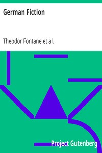 Cover of German Fiction