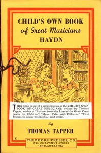 Cover of Franz Joseph Haydn : The Story of the Choir Boy who became a Great Composer