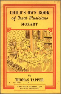 Cover of Mozart : The story of a little boy and his sister who gave concerts