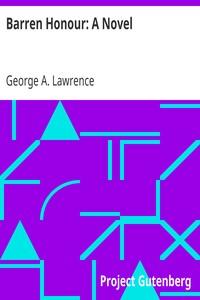 Cover of Barren Honour: A Novel
