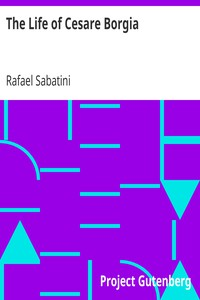 Cover of The Life of Cesare Borgia