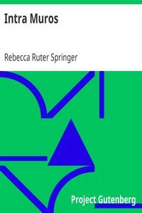 Cover of Intra Muros