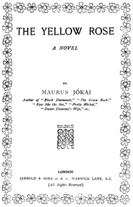 Cover of The Yellow Rose