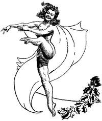 Cover of Florence Hanemann's Dance RevueCentral School, Glen Rock, New Jersey, June 9, 1950