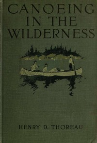 Cover of Canoeing in the wilderness