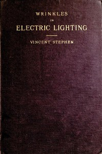 Cover of Wrinkles in Electric Lighting