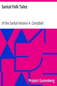 Cover of Santal Folk Tales