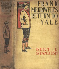 Cover of Frank Merriwell's Return to Yale