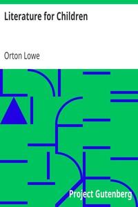 Cover of Literature for Children