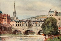 Cathedral Cities of England60 reproductions from original water-colours