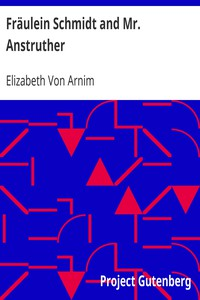 Cover of Fräulein Schmidt and Mr. Anstruther