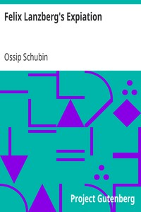Cover of Felix Lanzberg's Expiation