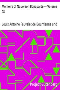 Cover of Memoirs of Napoleon Bonaparte — Volume 08