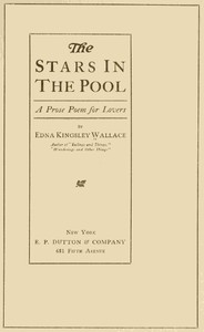 Cover of The Stars in the Pool: A Prose Poem for Lovers