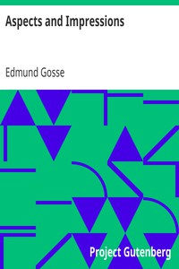 Cover of Aspects and Impressions