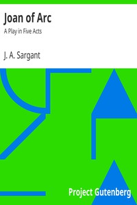 Cover of Joan of Arc: A Play in Five Acts