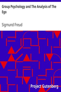 Cover of Group Psychology and The Analysis of The Ego